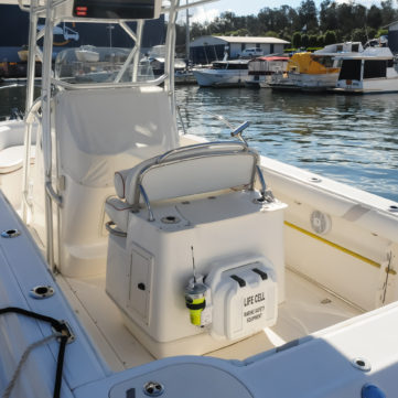 Life Cell Trailerboat white
