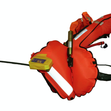 Secular life jacket integrated easyRESCUE