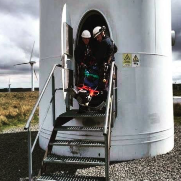 Saviour Stretcher Wind Turbine