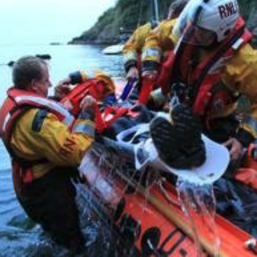 Saviour Stretcher RNLI Rescue