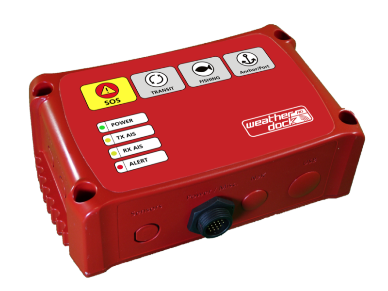 Weatherdock mssTRACK Fleet Tracking Transceiver